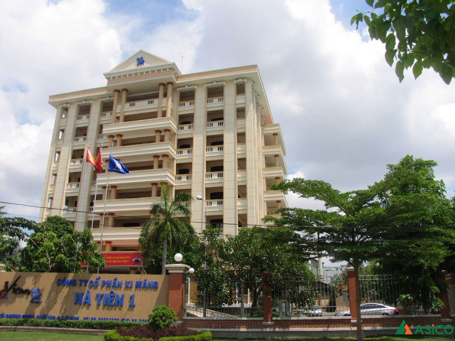 Head Office of Ha Tien 1 Cement Joint Stock Company